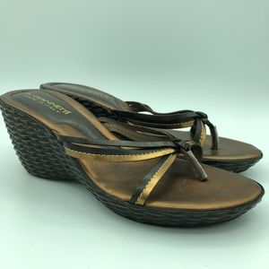 A. GIANNETTI Italian leather Sandals size 8